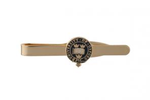 Официальные зажим для галстука легендарного ОКСФОРДСКОГО УНИВЕРСИТЕТА с синей эмалью  -OFFICIAL UNIVERSITY OF OXFORD BLUE HERITAGE CREST TIE SLIDE