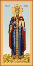 Мерная икона Людмила Чешская мученица (25x50 см)