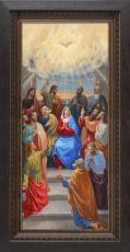 Мерная икона Сошествие Святого Духа (25x50см)