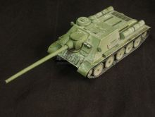 Сборная модель танка из бумаги Су-100 масштаб 1:35