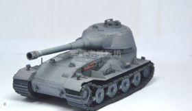 Сборная модель танка из бумаги VK 72.01 масштаб 1:35