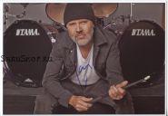 Автограф: Ларс Ульрих. Metallica