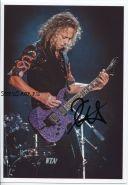 Автограф: Кирк Хэмметт. Metallica