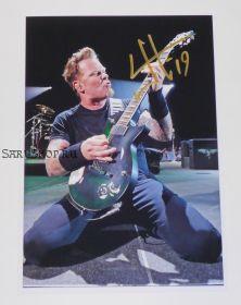 Автограф: Джеймс Хэтфилд. Metallica