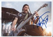 Автограф: Роберт Трухильо. Metallica
