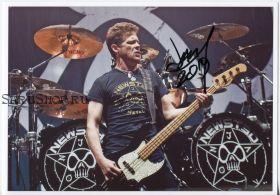 Автограф: Джейсон Ньюстед. Metallica