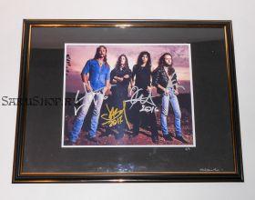 Автографы: Metallica. Д.Хэтфилд, Л.Ульрих, К.Хэмметт, Д.Ньюстед. Редкость