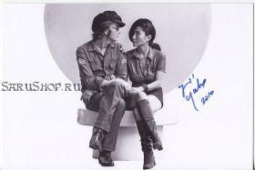 Автограф: Йоко Оно