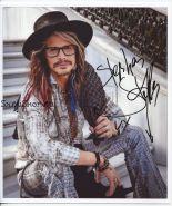 Автограф: Стивен Тайлер. Aerosmith