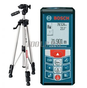 BOSCH GLM 80 Professional + BT150 - лазерный дальномер