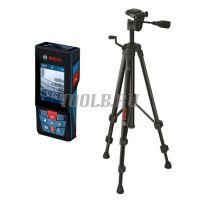 BOSCH GLM 120 C Professional + BT150 - лазерный дальномер со штативом