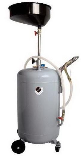 APAC 1803.80 Установка для слива масла/антифриза с круглой подъемной ванной, мобильная