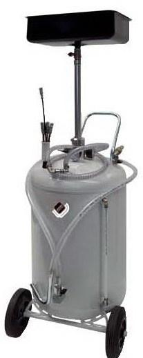APAC 1833 Установка для слива и откачки масла/антифриза с подъемной ванной, мобильная