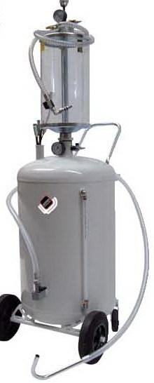 APAC 1836 Установка для откачки масла и антифриза с мерной емкостью, мобильная