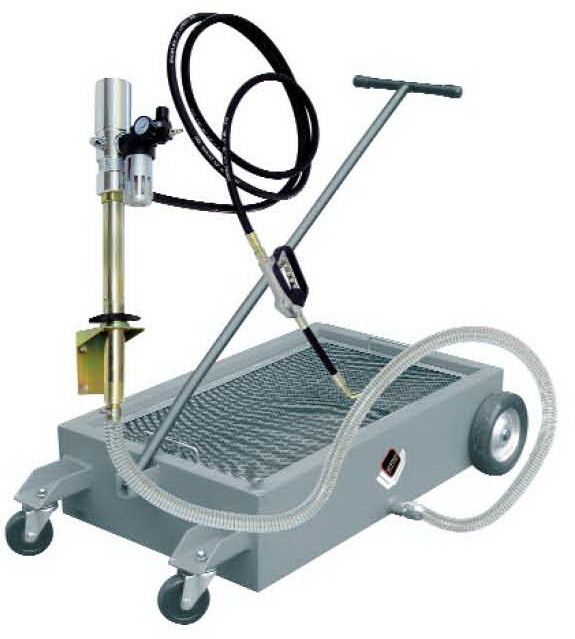 APAC 1841.DP Емкость подкатная для сбора отработанного масла, с насосом, на колесах 50 л.