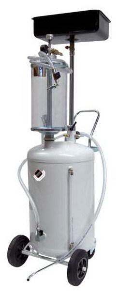 APAC 1840 Установка для слива и масла/антифриза с подъемной ванной, мобильная