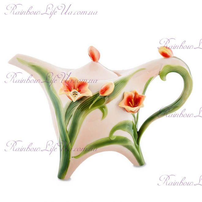 "Чайник заварочный Тюльпаны ""Pavone"""