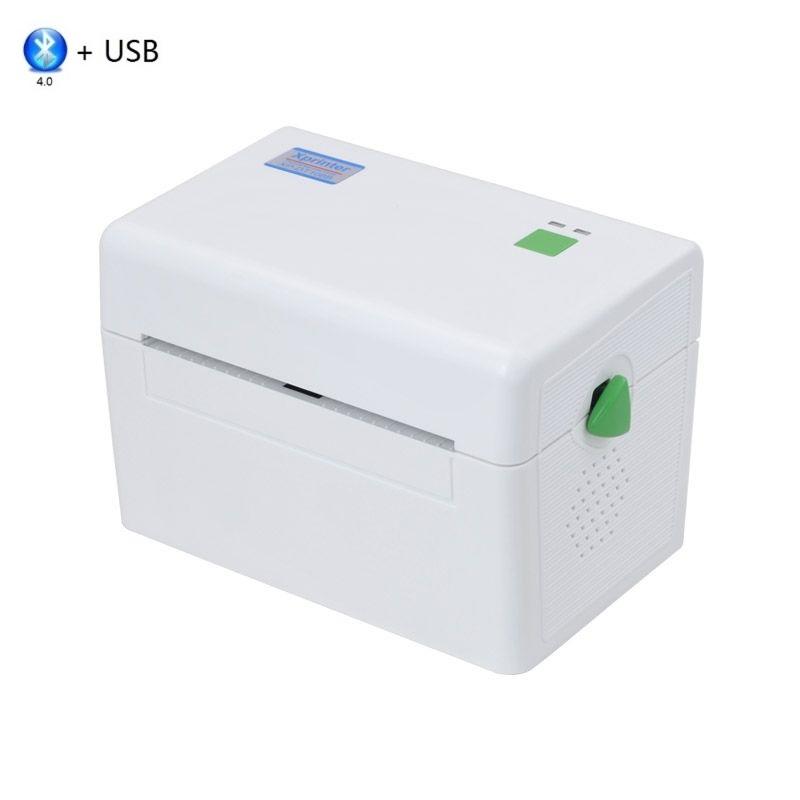 Термальный принтер XPrinter XP-DT108B (USB + Bluetooth) белый