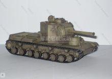 Сборная модель танка из бумаги Советский КВ-5 Тяжелый танк масштаб 1:50