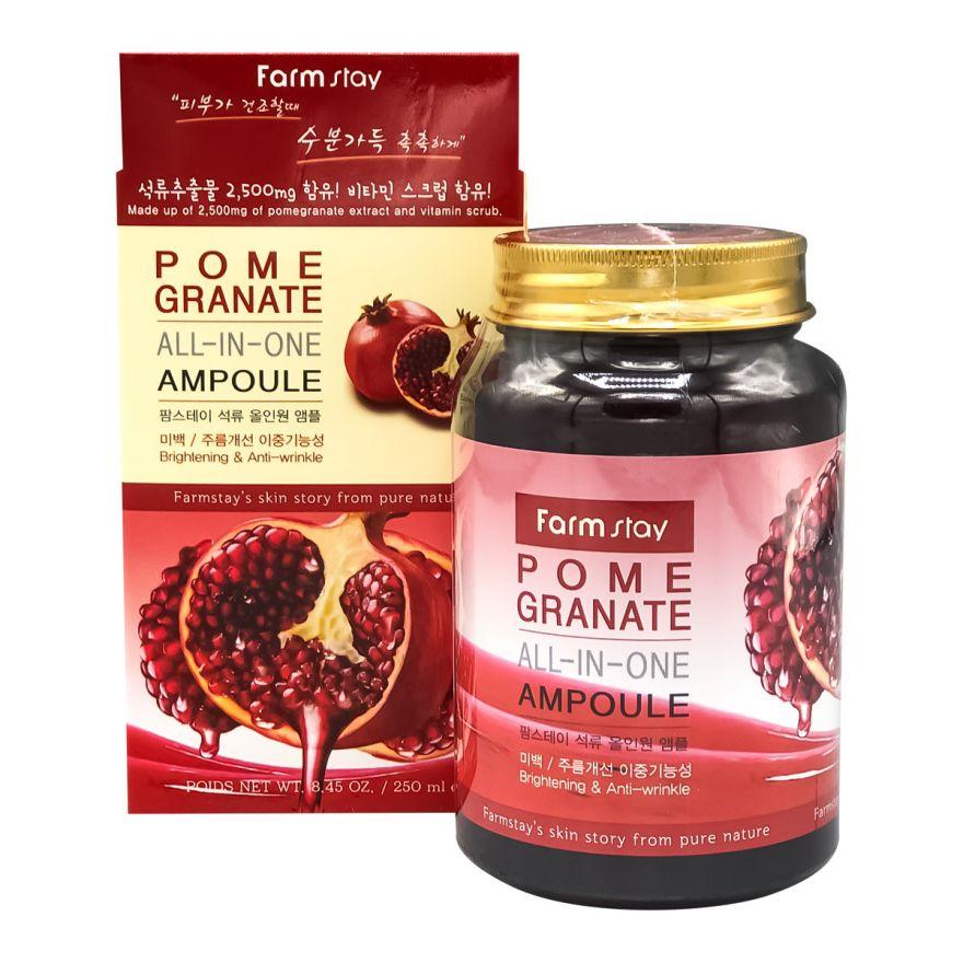 Сыворотка для лица с экстрактом граната Farmstay Pomegranate All-in-one Ampoule (KOREA ORIGINAL) (1124701)