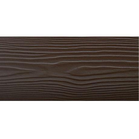 Сайдинг фиброцементный Cedral Wood C21 Коричневая глина 3600х190х10 мм