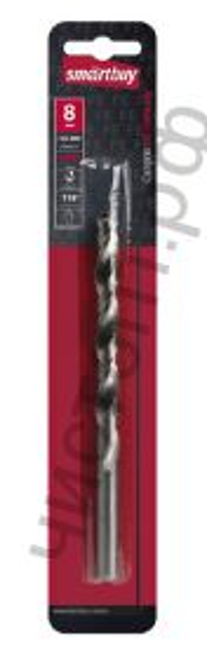 Сверло по стали, 8 мм, сталь Р6М5, HRC>60, Smartbuy tools (SBT-DM-8)/250