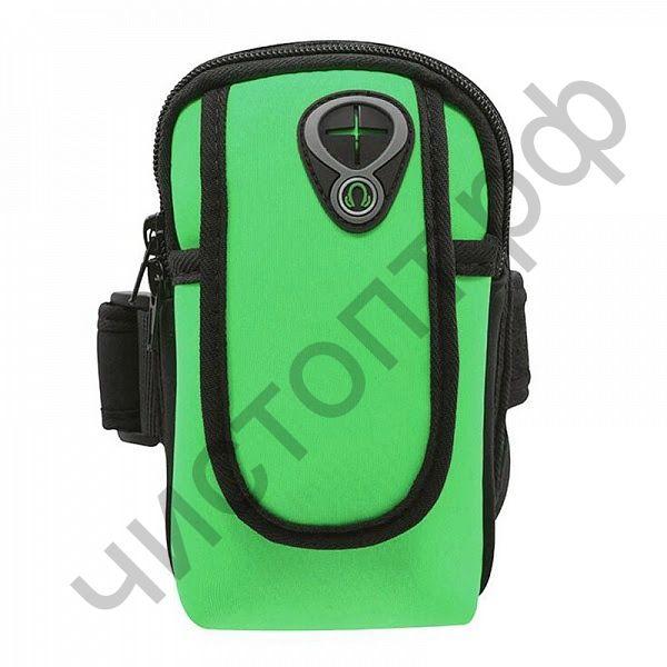 Чехол-нарукавник Орбита OT-SMH11 Зеленый для смартфона