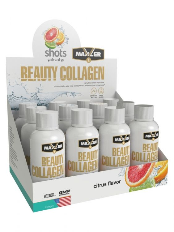 Maxler Beauty Collagen Shots  60ml 2 порции