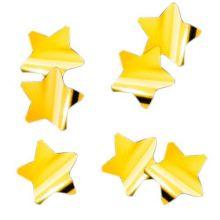 Конфетти фольга, звёзды, золото,3 см, 50 гр