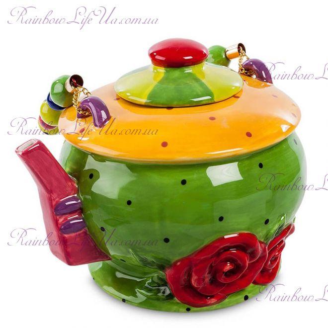 """Чайник заварочный розы """"Pavone"""""""