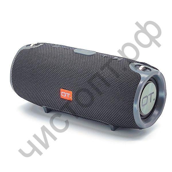 Колонка универс.с радио OT-SPB23 Черный (S6S) (TF, USB, FM, порт аккум)