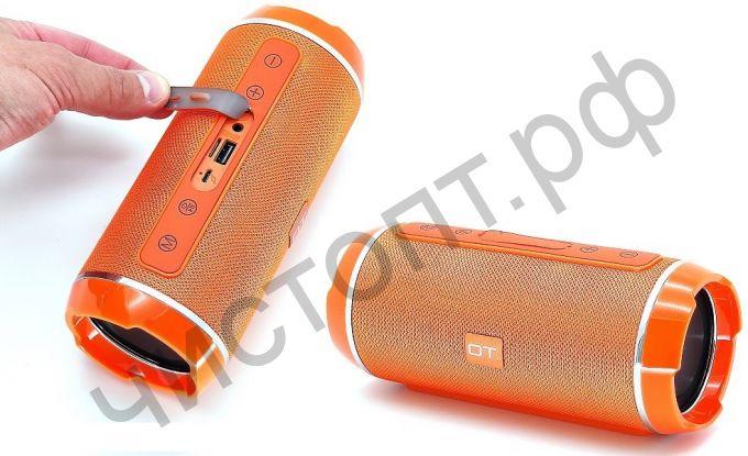 Колонка универс.с радио OT-SPB56 Оранжевый (TG116) (TF, USB, FM)