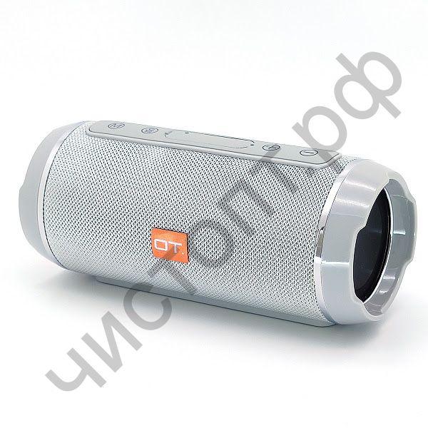 Колонка универс.с радио OT-SPB56 Серебро (TG116) (TF, USB, FM)