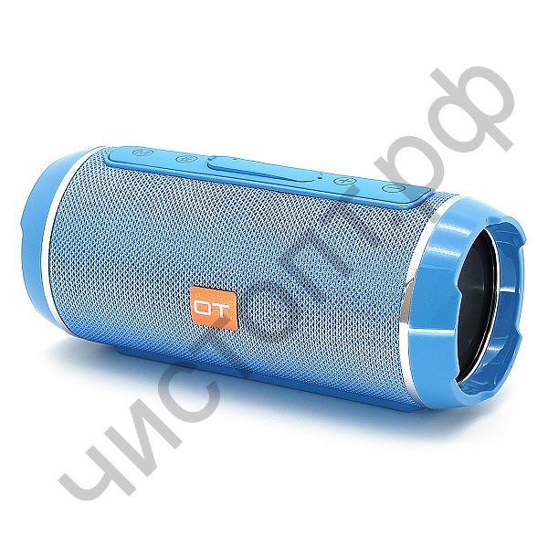 Колонка универс.с радио OT-SPB56 Синий (TG116) (TF, USB, FM)