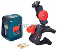 Купить BOSCH GLL 2 Лазерный уровень с держателем MM2 по низкой цене