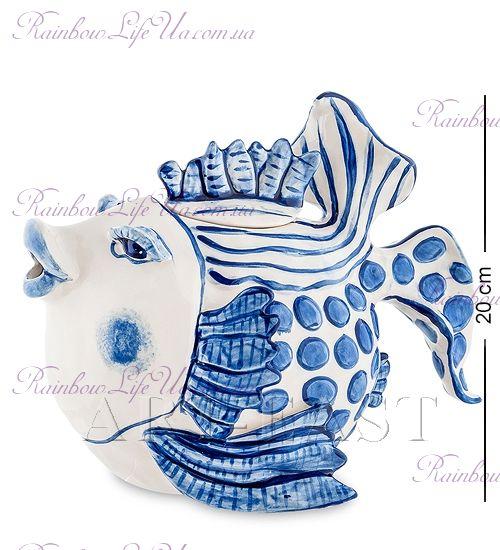 """Заварочный чайник Рыба голубая """"Blue Sky"""""""