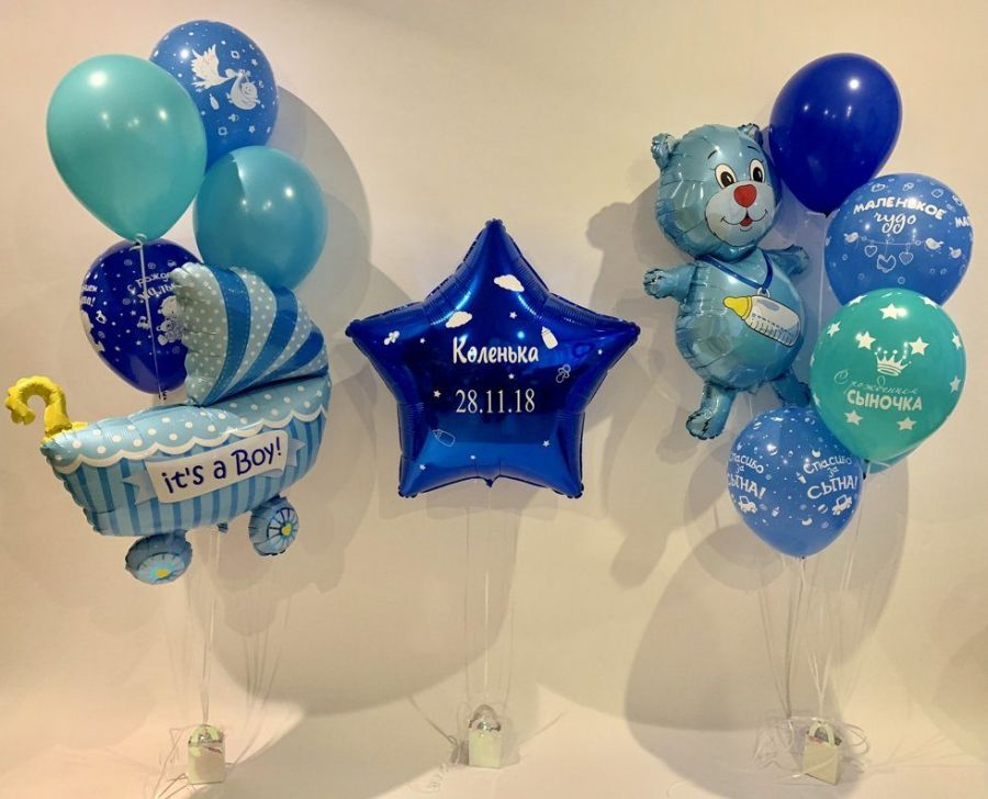 Гелиевые шары набор №119