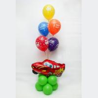 Композиция из гелиевых шаров День рождения № 145