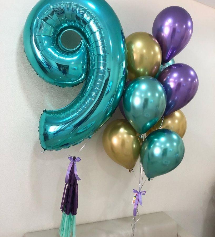 Гелиевые шары набор №95