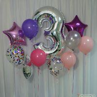 Гелиевые шары набор №96