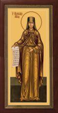 Мерная икона Аполлинария преподобная (25x50см)