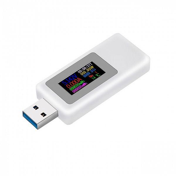 USB тестер KEWEISI KWS-MX19 Белый