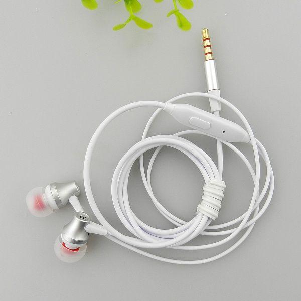 EZRA EP21 Белые наушники вакуум - гарнитура