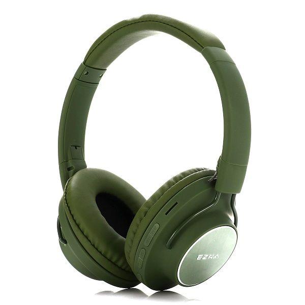 EZRA BW03 Зеленые наушники - гарнитура (Bluetooth)