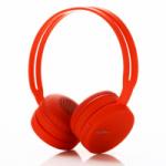 EZRA BW02 Красные наушники - гарнитура (Bluetooth)