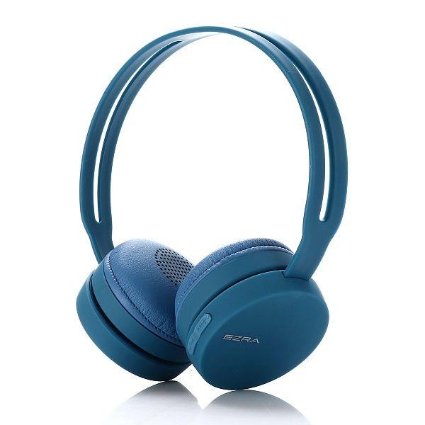 EZRA BW02 Синие наушники - гарнитура (Bluetooth)