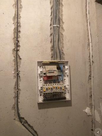 Ниша для электрощита в бетоне