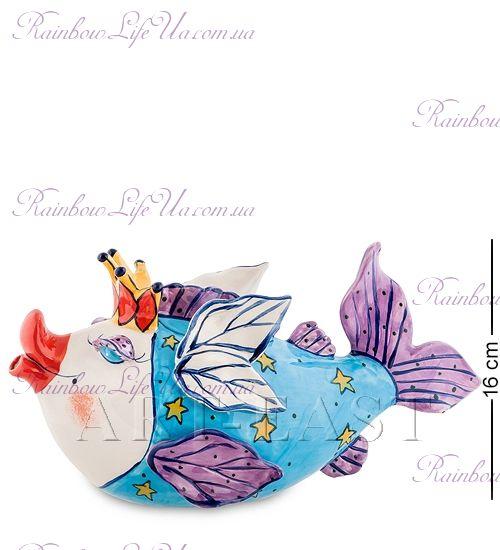 """Заварочный чайник Рыба Королева """"Blue Sky"""""""