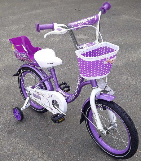 Велосипед Rook Belle с креслом для куклы 2020