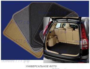 Коврик в багажник, Unidec, велюр черный